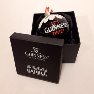 It's Guinness Time Christmas Bauble Ornament